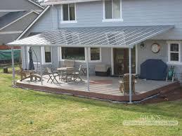 Aluminum House Awnings Patio Aluminum Patio Covers Kits Home Designs Ideas