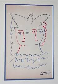 2 women u0026 dove drawing can anyone tell me if this is authentic or