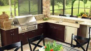 outdoor kitchen cabinet ideas built in single bowl sink high back
