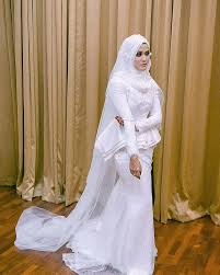 wedding dress malaysia nikah wedding dress by wedding bridestory