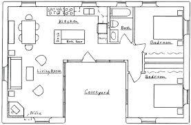 l shaped ranch house plans u shaped house floor plans c shaped house plans with courtyard
