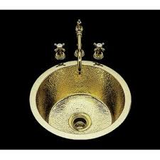 Bronze Kitchen Sinks Youll Love Wayfair - Brass kitchen sink