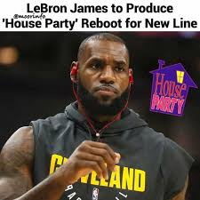 Meme Lebron James - dopl3r com memes lebron james to produce house party reboot