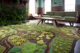 Playroom Area Rug Forest Floor Rug Area Rugs Idea Square Floral Pattern Unique