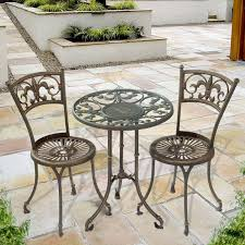 Vintage Bistro Table Vintage Cafe Table And Chairs Modern Home Design