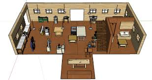 Blacksmith Shop Floor Plans Dream Shop The Lighthearted Woodworker
