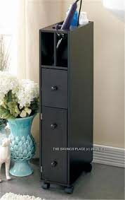 Black Bathroom Storage 33 Best Bathroom Organization Images On Pinterest Bathroom