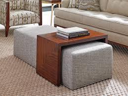 Espresso Ottoman Coffee Table Furniture Large Ottoman Coffee Table For Modern Living Room