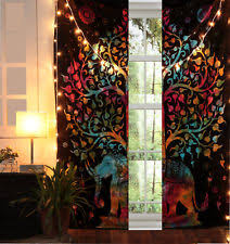 tapestry curtains ebay