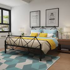 online buy wholesale modern furniture bedroom from china modern beds home furniture iron bed single double bed wholesale multi size 1 5 1 9cm