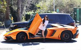 build your lamborghini aventador jenner steps out of flashy 400 000 lamborghini daily mail