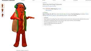 Hotdog Halloween Costume Snap Selling 80 Dancing Dog Halloween Costume Marketwatch