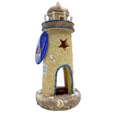 lighthouse aquarium ornament medium aquar ornaments at arcata