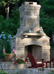 Stacked Stone Outdoor Fireplace - 12 best fireplaces images on pinterest backyard designs