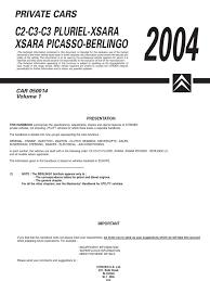 2004 c2 c3 c3 pluriel xsara picasso berlingo diesel engine