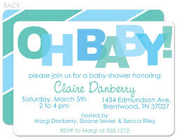 joint baby shower invitation wording baby shower decoration