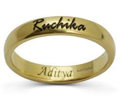 wedding rings with names wedding names on wedding rings