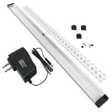 under cabinet led lighting kit eshine extra long 20 inch panel led under cabinet lighting kit