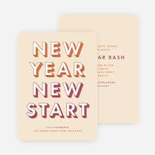 new year new address cards new year cards and new year invitations paper culture