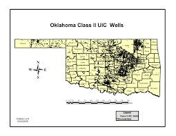 Map Of Oklahoma State by Occ Oil And Gas Data Files