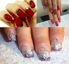 glamorous nail designs for christmas u0026 holidays