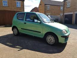fiat seicento 2001 1 0 petrol manual 60k only new mot 2 key in