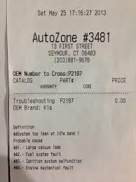 does autozone check engine light for free our kia sedona s check engine light chadcarlson com