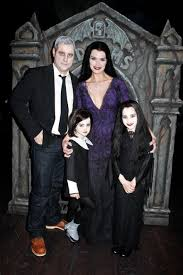 The Addams Family Halloween Costumes by 19 Times Celebrity Parents Totally Nailed Halloween Babycenter Blog