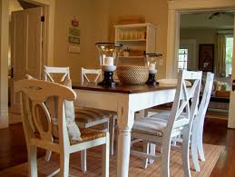 Dining Room Table Ideas Fascinating White Rustic Kitchen Table