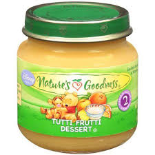 tutti cuisine nature 39 s goodness tutti frutti dessert baby food 4 oz