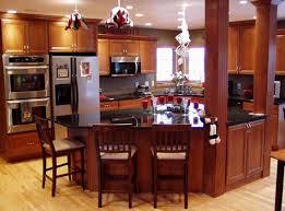 Triangular Kitchen Island Kitchen Island With Cherry Cabinets