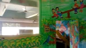 pre school play school classroom wall theme painting mumbai youtube
