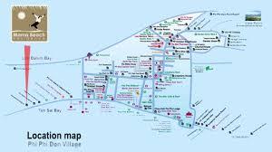 map mama beach residence koh phi phi
