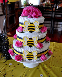 sassy sanctuary ba u0027bee u0027 shower week how to make a diaper cake