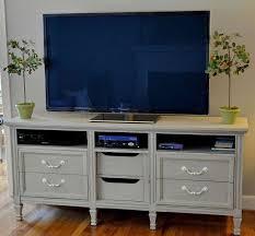 Bedroom Dresser Tv Stand Best 25 Dresser Tv Ideas On Pinterest Tv Stand Drawers Tv Tv Stand