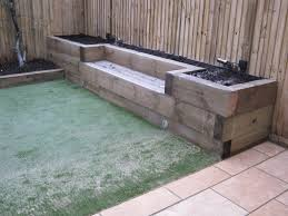 Railway Sleepers Garden Ideas 7 Fav Railway Sleepers Ideas