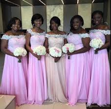 Wedding Bridesmaid Dresses Nigerian Bridesmaid Dresses Off White Gold Canada Best Selling