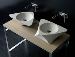 Bandini Faucets Unique Shape Washbasin From Natural Stone By Bandini Modern Home