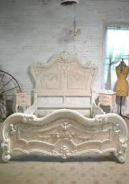 painted cottage shabby chic romantic angel queen king bed