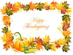 illustration of thanksgiving day background royalty free cliparts