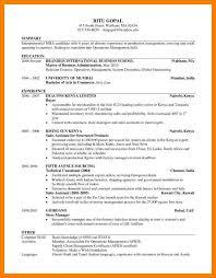 harvard resume harvard business resume format