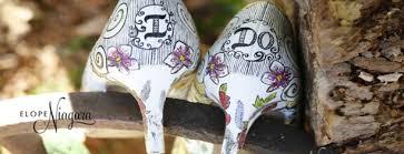 wedding shoes canada ontario wedding ceremony in niagara falls canada archives