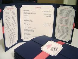 folded wedding programs 39 best custom designed wedding programs images on