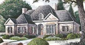 brick colonial house plans architectual styles
