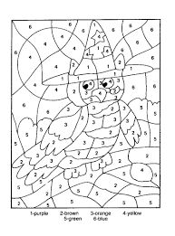 numbers coloring pages 1 10 pdf worksheets numbers coloring pages