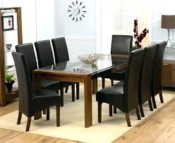 Extended Dining Table Sets Dining Set With Fabric Chairs Multi Coloured Extending Dining Set