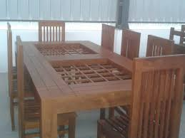 fresh kerala style carpenter works and designs table