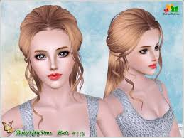 sims 3 custom content hair collections of sims 3 braids hairstyles shoulder length hairstyles