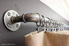 Cheap Black Curtain Rods For An Inexpensive Diy Curtain Rod Alternative Consider Using