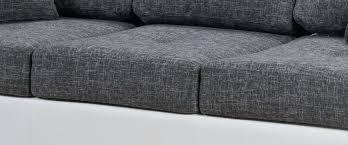 tissu pour canap ikea tissu pour canape canapac design 3 places en tissu gris perrine